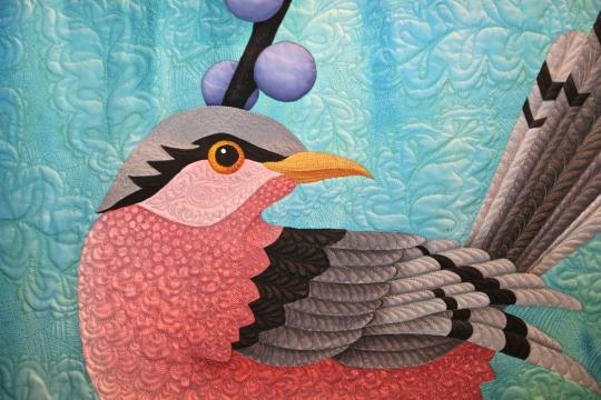 Pink Bird - by Judy Coates Perez, Sacramento, California, USA