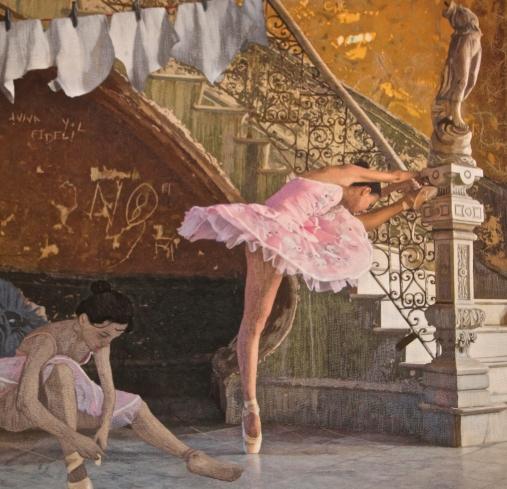 Cuban Ballerina - by Jennifer Day, Santa Fe, New Mexico. USA