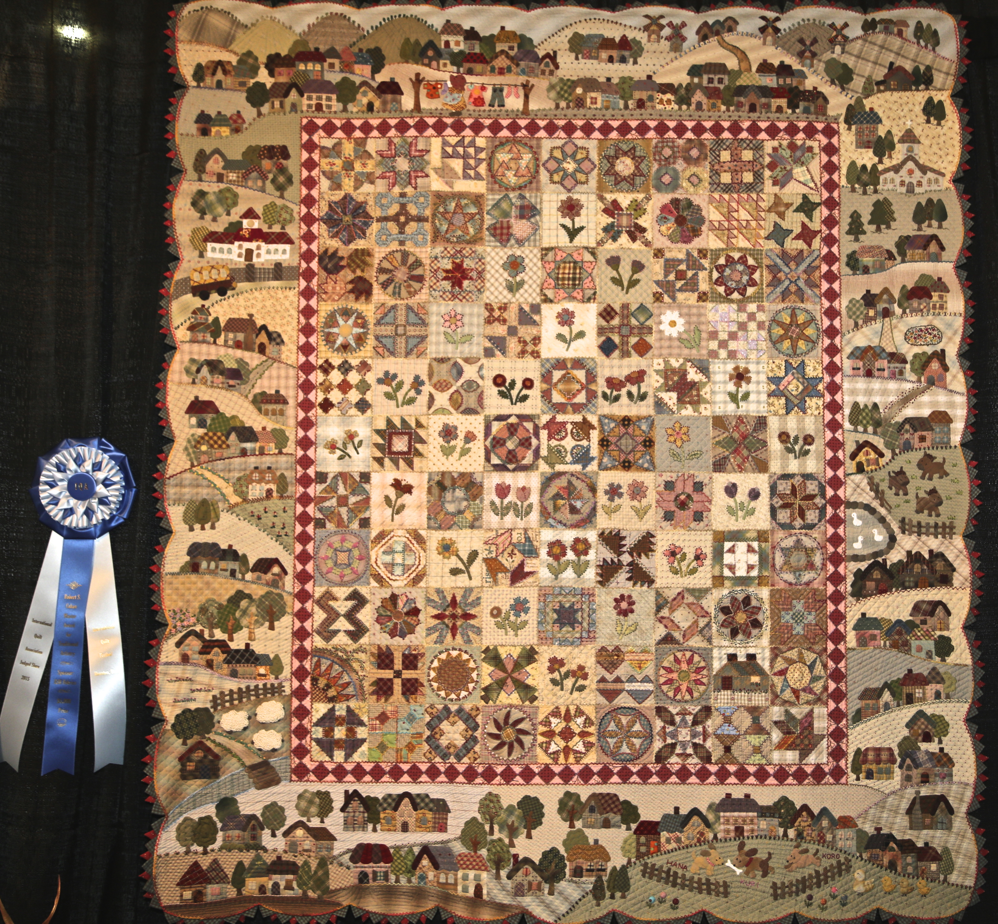 Award Winners at the International Quilt Festival Houston | I am ... : houston international quilt show 2015 - Adamdwight.com