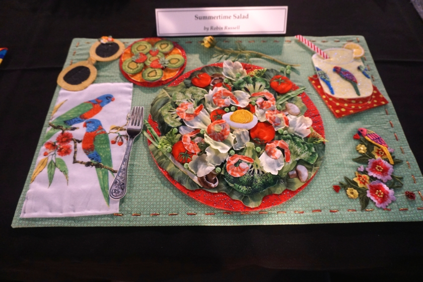 """The """"dinner"""" quilts shown at the International Quilt Festival ... : international quilt show houston - Adamdwight.com"""