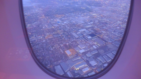 LA turns purple.