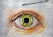 Illustrative Thread painting