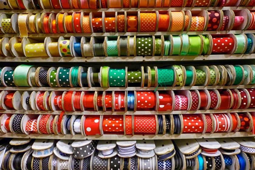 NY ribbons.